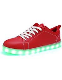 Amazon.com: Red - Fashion Sneakers / Shoes: Clothing, Shoes & Jewelry