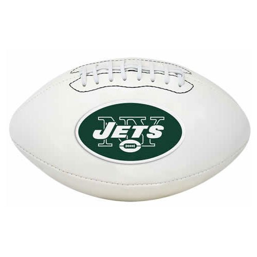 Jets Logo New Football York (NFL Signature Series Full Regulation-Size Football)