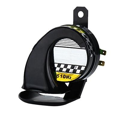 CoCocina Universal 12V 130Db Loud Motorcycle Truck Car Snail Air Horn Siren Waterproof