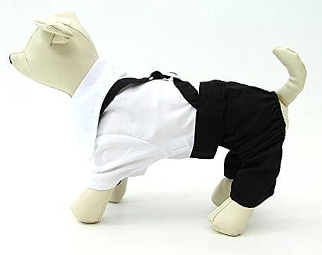 Perros Unido Dapper Perros Disfraz Perro Novio De Esmoquin ...