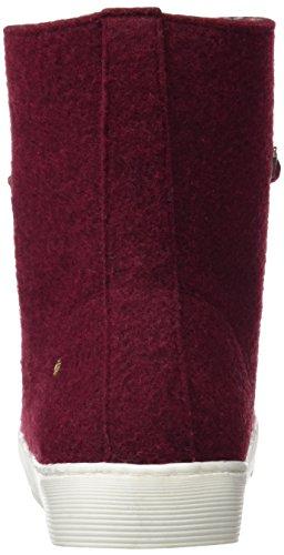 Delle Cuple Rosso 103070 granate Nuevo Donne Stivali 055 Caviglia UwBx1HqgcT
