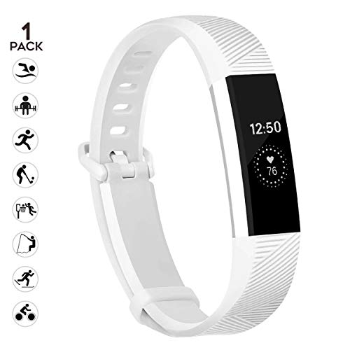 sunyfeel Compatible with Alta HR and Alta Band Replacement, Fashion Sports Silicone Personalized Replacement Bracelet with Metal Clasp for Alta HR/Alta
