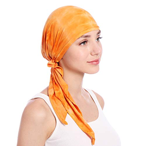 KINGREE Chemo Cap,Turban Headwear,Multi Function Headwrap and Chemo Hats for Hairloss