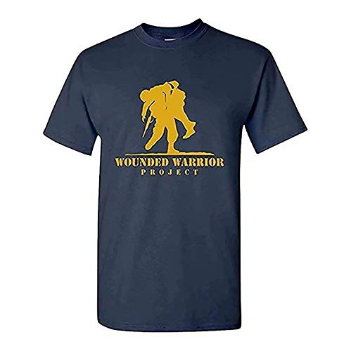 Men's Wounded Warrior Project Classic T-Shirt Navy