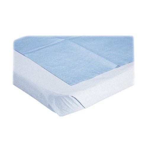 Medline Disposable Stretcher Sheets, 40in. x 90in., Blue, Box Of - Pillow Disposable Medline