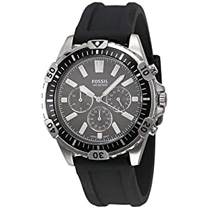 Fossil Analog Black Dial Men's Watch-FS5624