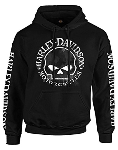 Harley Davidson Willie Pullover Hooded Sweatshirt