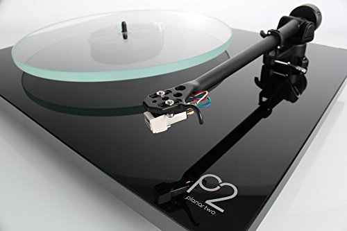 Rega Planar 2 Turntable with RB220 tonearm, Glass-platter...