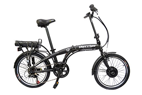 Viking Harrier 20inch Folding Electric Bike - Harrier Black