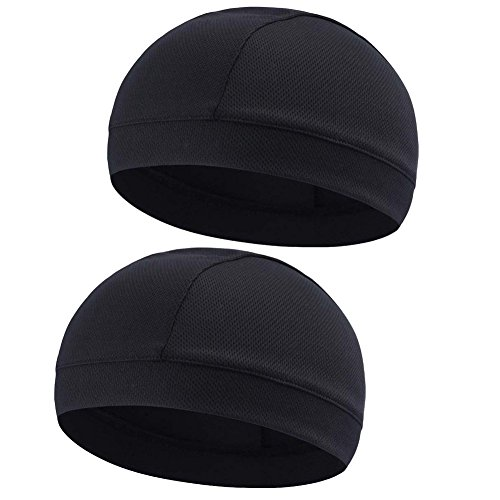 - Moisture Wicking Cooling Skull Cap/Helmet Liner/Running Beanie Caps - Motorcycle Cycling Breathable Dome Cap Sweatband