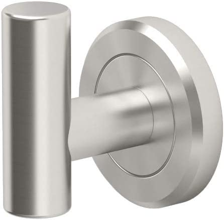 Gatco 4295 Latitude II Single Robe Hook, Satin Nickel - Bathroom Hook -