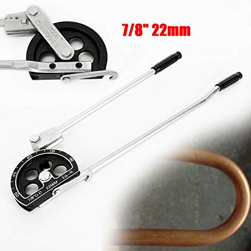 "7/8""22MM Copper Pipe Bender, 180 22MM Pro Manual Copper Pipe Bender 7/8"" Spring Bending Tubes Benders Us Shipping New Tubing Tube Aluminum Steel Degree Line Set Wire Hand Operated for from LOYALHEARTDY19"