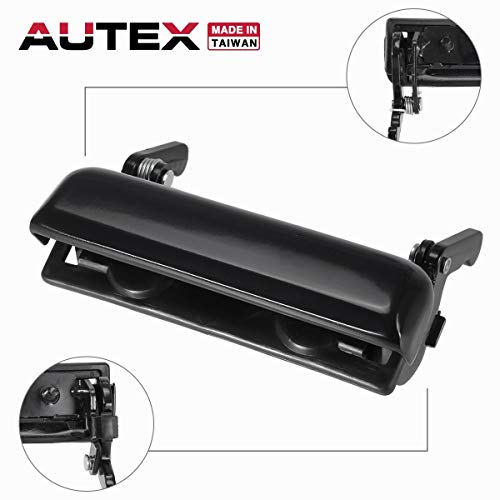 AUTEX Taigate Handle Liftgate Door Handle Compatible with Ford Ranger 1993 1994 1995 1996 1997 1998 1999 00 01 02 03 04 05 06 07 08 09 10 11 Mazda B2300 B2500 B3000 B4000 Tail Gate Handle 79603 60305 ()