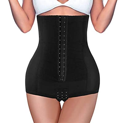 BRABIC Postpartum Girdle High Waist Control Panties for Belly Recovery Compression Butt Lifter Slimming Underwear