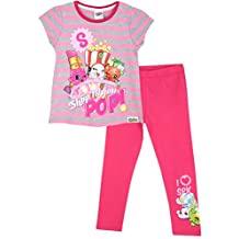 Shopkins Girls Shopkins Short Sleeve T-Shirt & Leggings Set
