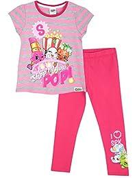 Shopkins Girls Shopkins Short Sleeve T-Shirt & Leggings Set