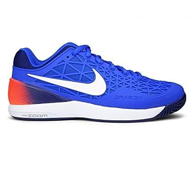 Air Tennis Zoom Cage Hommesbleublanc Nike Chaussures Pour De 2 rCthsQd