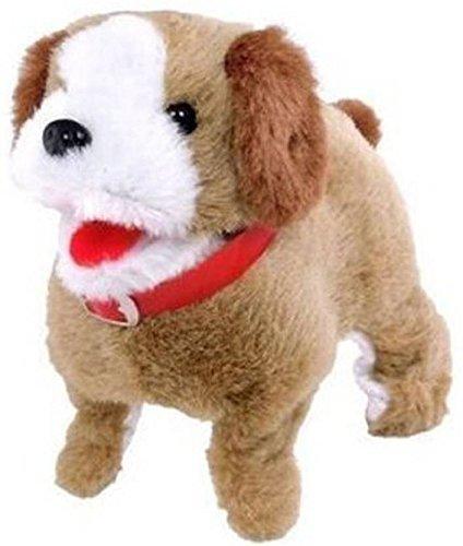 atorakushon Dog Soft Toy  22x32 Cm, Brown