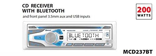 Dual Electronics 1DIN MRN CD AM/FM RCVR/BT MCD237BT by Dual Electronics (Image #3)