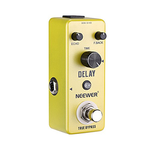 (Neewer® Compact Pure Analog Delay Guitar Effect Pedal True Bypass, Build with Aluminium-alloy, Low Noise Performance with Simple and Effective Operation)