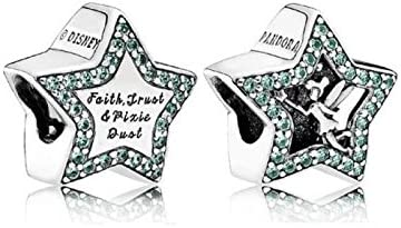 Pandora DISNEY, Tinkerbell Star Charm: Amazon.co.uk: Jewellery