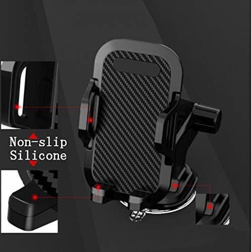 車の電話ホルダー、多機能カーナビゲーションフレーム付きインストルメントパネルエアアウトレットフロントガラス (色 : C)