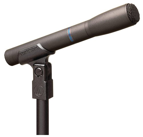Audio-Technica AT8010 Omni-Directional Instrument Condenser Microphone (Technica Audio Omnidirectional Mic Condenser)