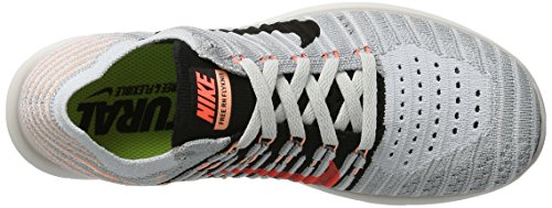 NIKE Women's Free RN Flyknit 2017 Running Shoe Grey / Black - Mango discount latest websites for sale how much online F0AqU