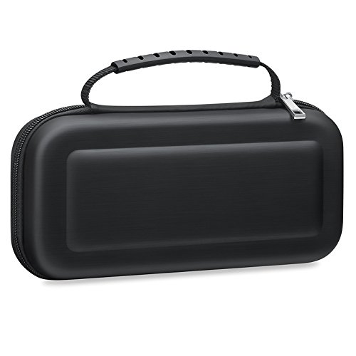 BONSYL Game Case for Nintendo Switch,Durable Hard Shell Case Scratch Resistant Carrying Case with Strap for Nintendo (Pdp Screens)