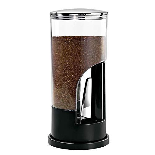 Zevro KCH-06079 Indispensable 1/2-Pound-Capacity Coffee Dispenser, Black (Dispenser Wall Zevro)