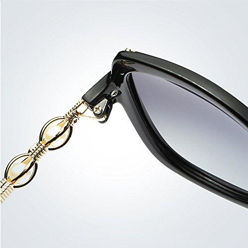 marca Diseñador marco 4 calidad gradiente de Polarized moda de adultos Gafas Ruanyi mujeres de de verano sol para de Mariposa gafas para sol alta Oval wSq7vXpZ