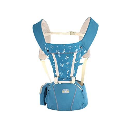 FH Babytrage, Multifunktions-Schultergurt, Empfohlen 0-36 Monate Komfortable Und Weiche Babytrage Für Alle Jahreszeiten (Farbe   Blau)