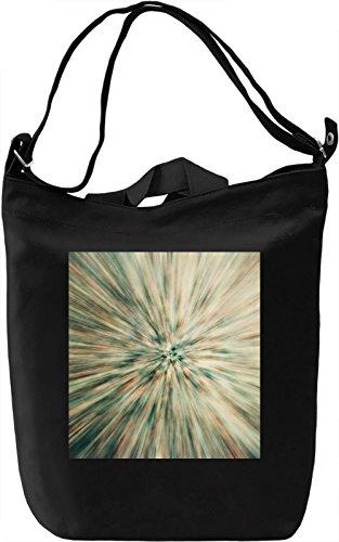 Hypnotic Print Borsa Giornaliera Canvas Canvas Day Bag| 100% Premium Cotton Canvas| DTG Printing|