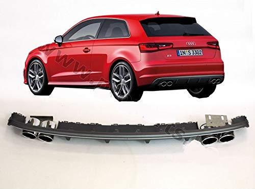 Sport S3 Optik DIffusor Heckansatz fur A3 Sportback PROPARTS
