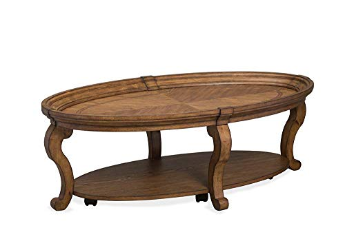 Magnussen T4712 Isabella Oval Cocktail Table w/Casters ()