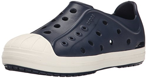 crocs Bump It Shoe Slip-On Shoe (Toddler/Little Kid), Navy/Oyster, 6 M US Toddler by Crocs