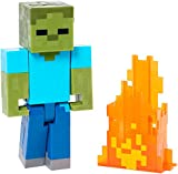 Minecraft Series 2 Zombie with Pop Out Flames - Best Reviews Guide