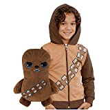 Cubcoats Star Wars Chewbacca - 2-in-1 Transforming Hoodie and Soft Plushie - Chewie Brown