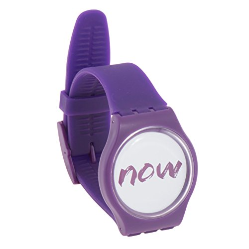 Now Watch - Be Present in the Moment with WristBand That Says Now - For Men & Women