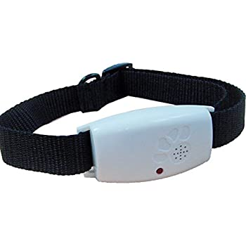 TRENTON Pet Ultrasonic Safe Mosquito Flea Ticks Pest Repeller Adjustable Collar for Dogs Cats