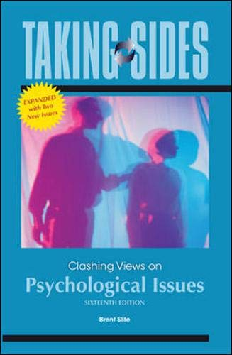 Taking Sides: Clashing Views on Psychological Issues, Expanded