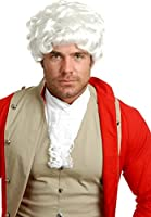Charades Costumes - Colonial Gentleman Adult Wig