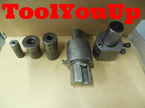 2 pcs 60 mm SHANK VDI BORING BAR TOOL HOLDERS W/ 2 1/2