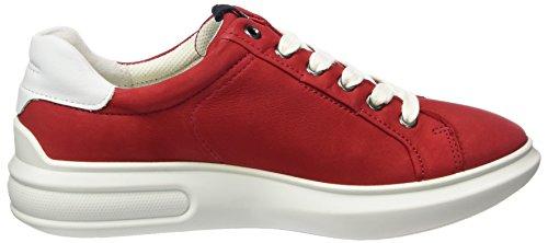 Rosso 3 Soft Red white Stringate Donna Scarpe 56545chili Ecco q4O5wXxX