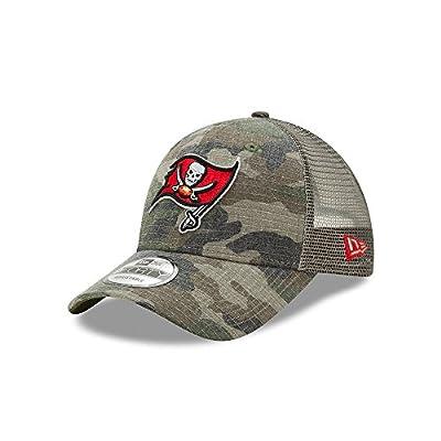 Tampa Bay Buccaneers Camo Trucker Duel New Era 9FORTY Adjustable Snapback Hat / Cap by New Era