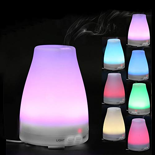 Hot Sale!DEESEE(TM)LED Air Aromatherapy Essential Oil Diffuser Aroma Humidifier Purifier Mist Maker -
