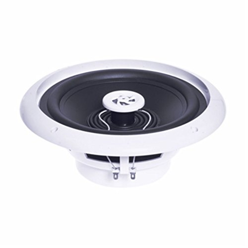 EV3-e-audio Round Ceiling Speaker With Moisture Resistant Cone and Polymer Tweeter