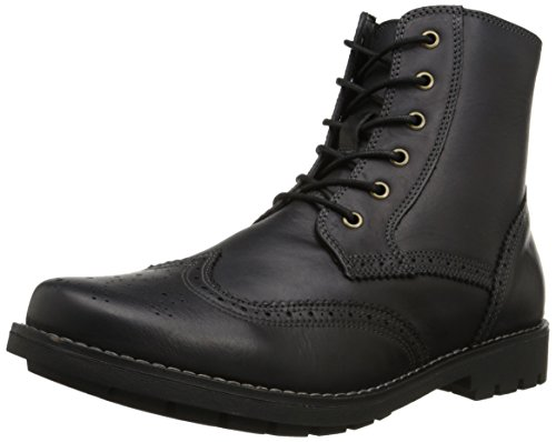 Dr. Scholls Heren Scully Combat Boot Zwart