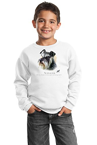 (Schnauzer Youth Sweatshirt by Howard Robinson)