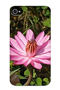 Graceyou High-quality Durability Case For Iphone 6 4.7(purple Water Lily)